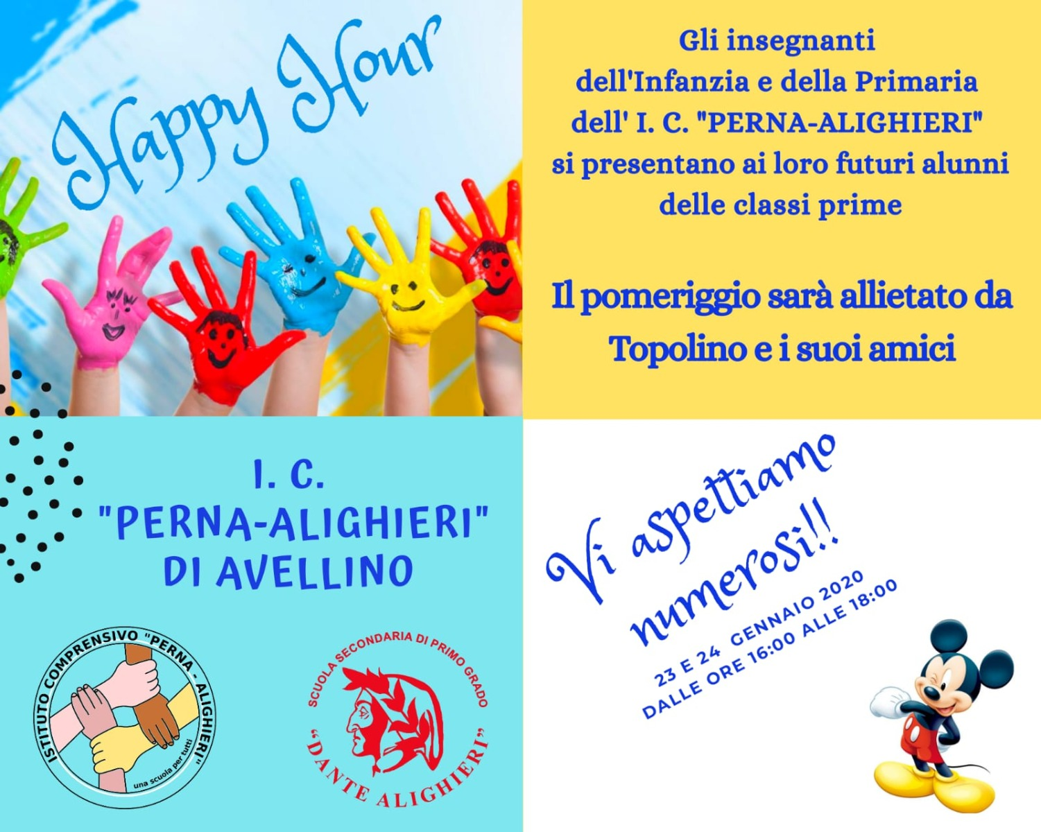 HAPPY HOUR INFANZIA E PRIMARIA